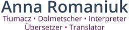 Anna Romaniuk: Tłumacz, Dolmetscher, Interpreter, Ubersetzer, Translator